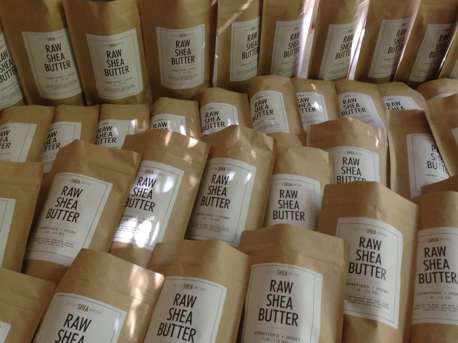 Our Shea Butter is headed to Amazon