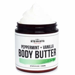 peppermint body butter