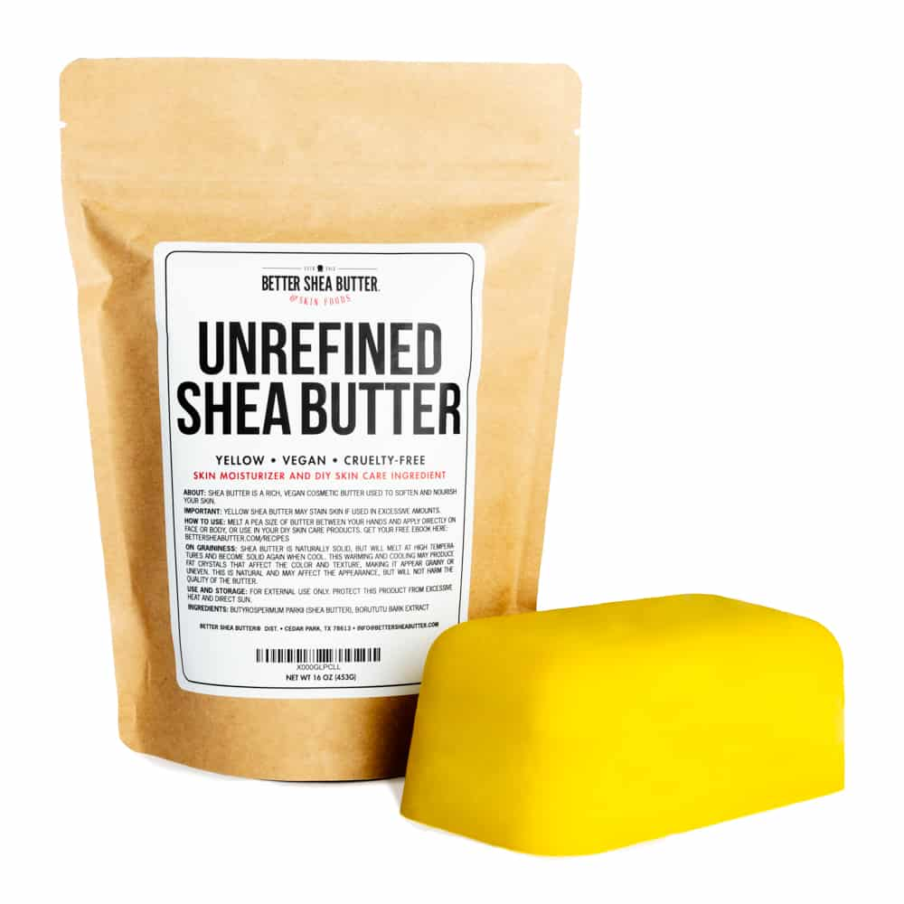 Shea Butter yellow