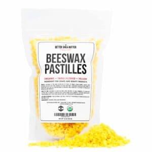 organic beeswax pastilles