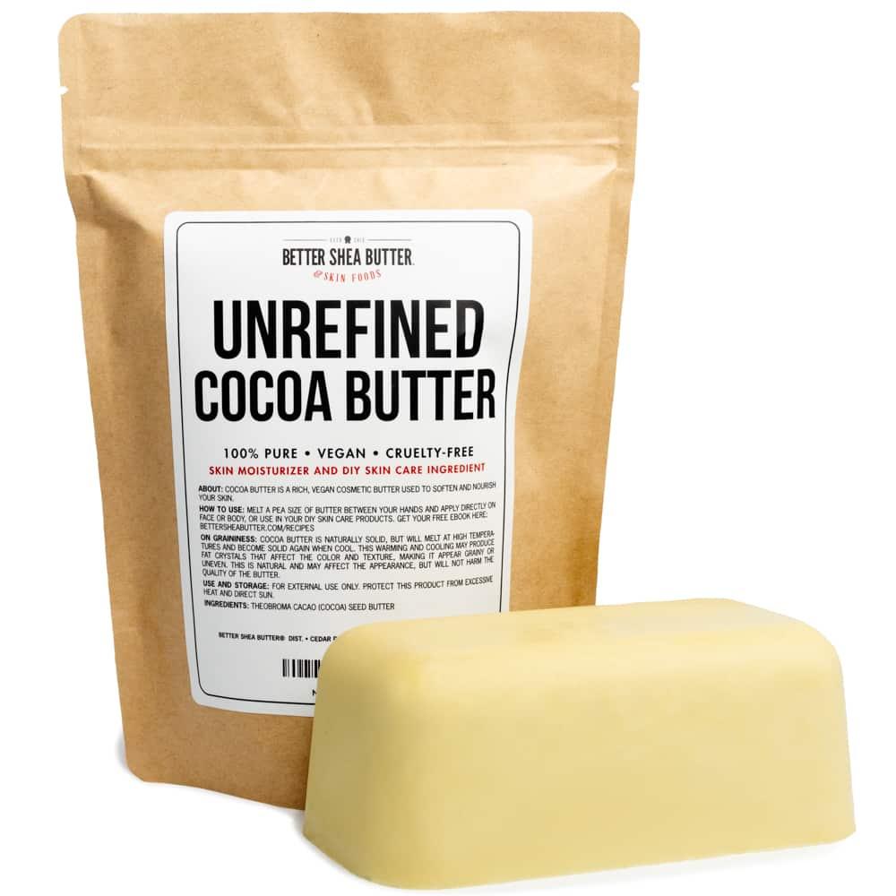 unrefined organic cocoa butter