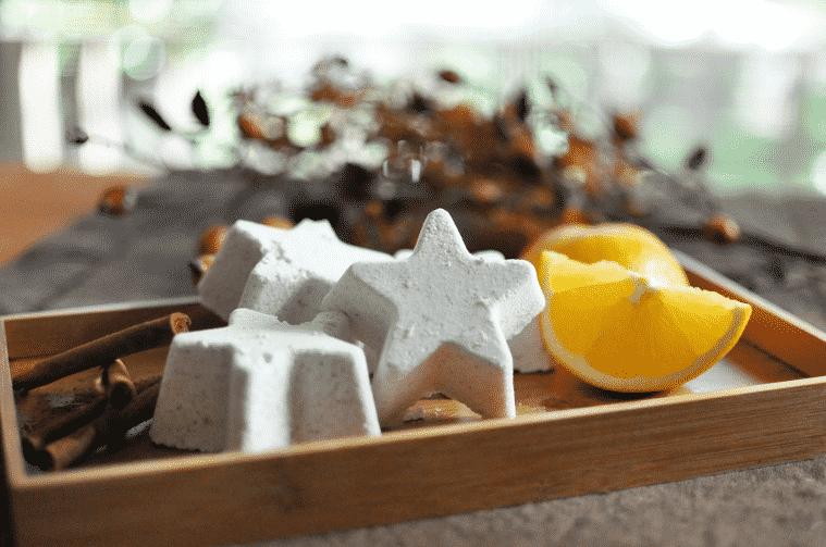 Orange Cinnamon Bath Bombs