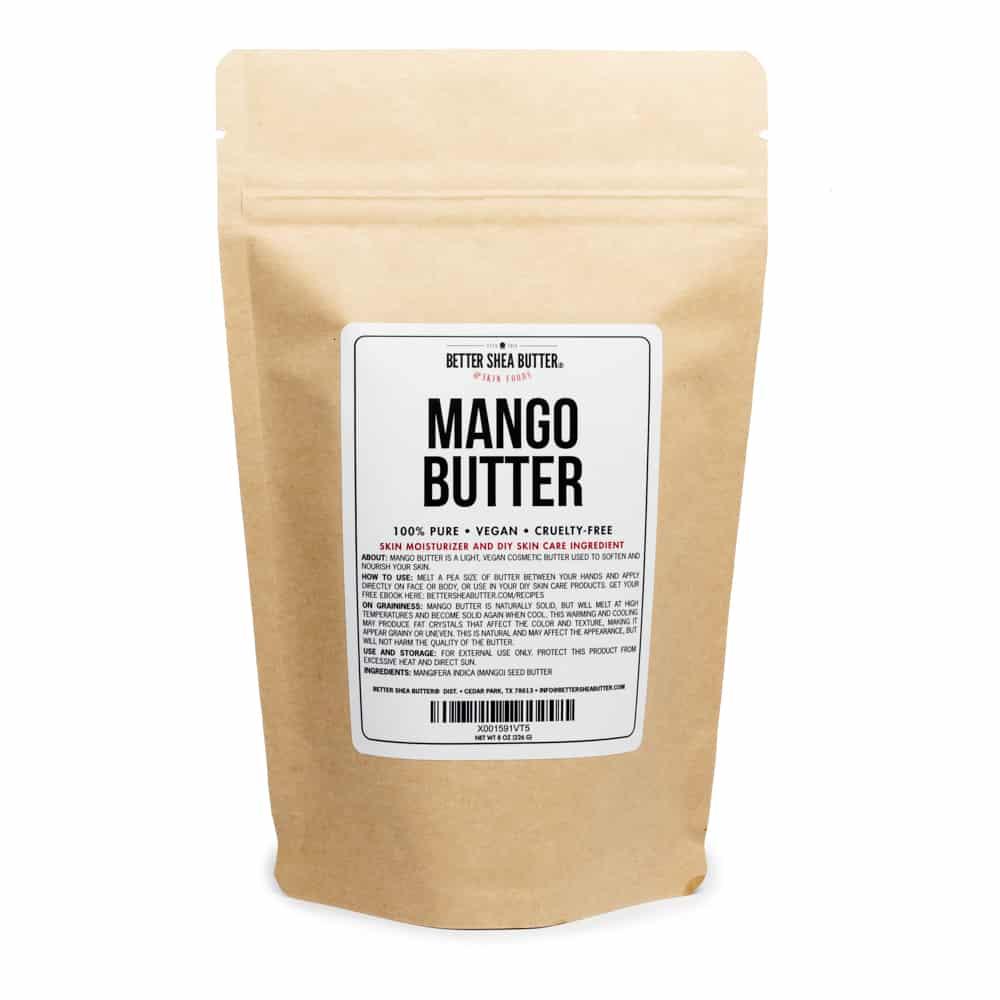Organic Mango Butter - 100% Pure Mango Butter