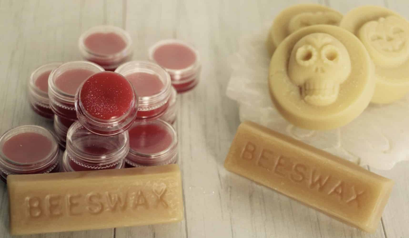 Got beeswax? Let's make lip balm and lotion bars!