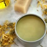 DIY calendula healing salve