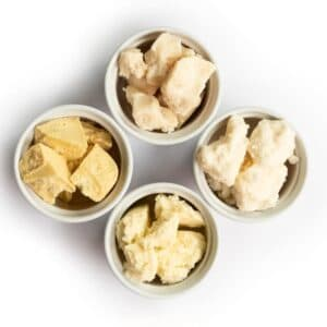 skin care butter samples
