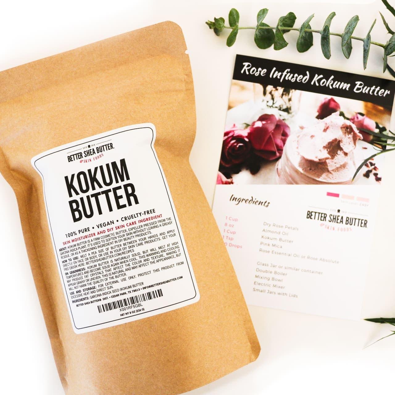 rose infused kokum butter kit