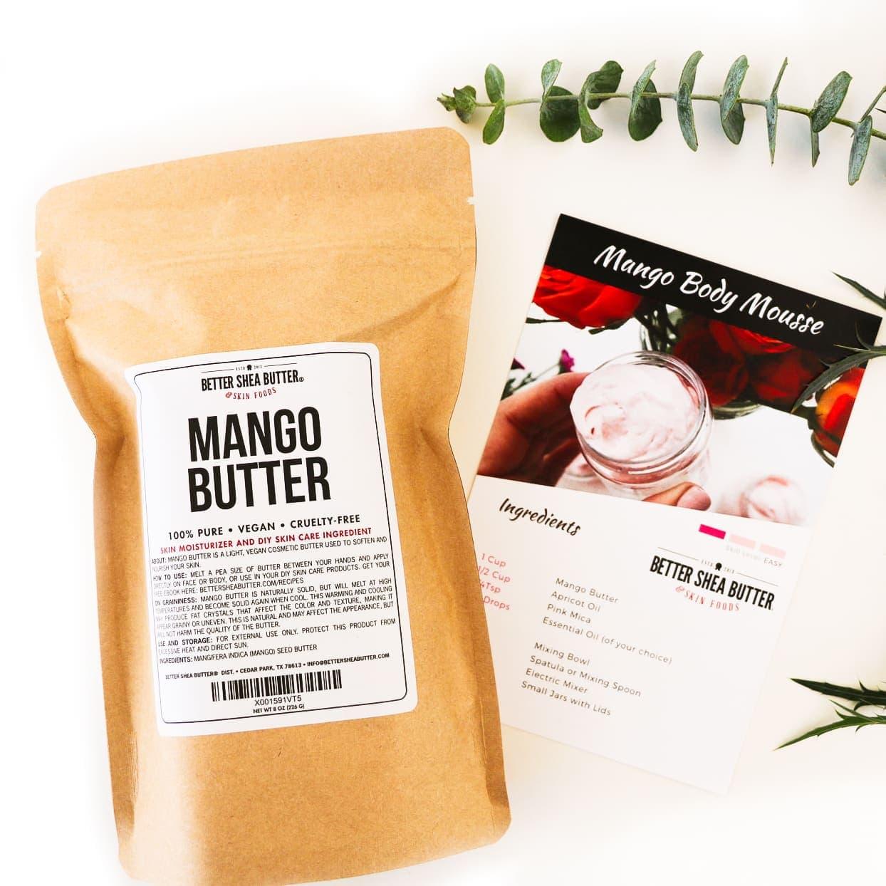 mango body mousse