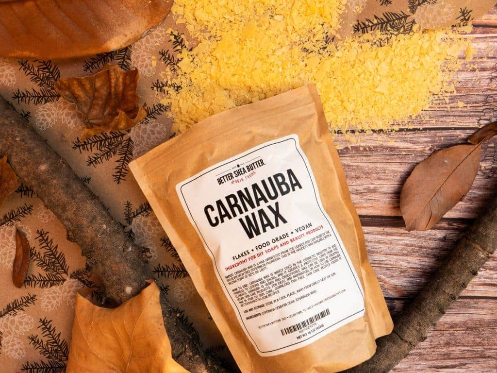 carnauba wax for vegan lip balm