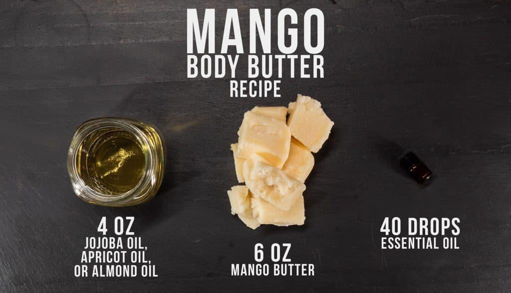 whipped mango body butter recipe